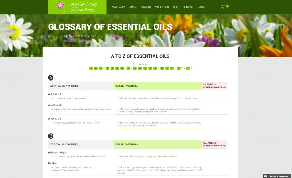 ACOA-essential-oils-glossary