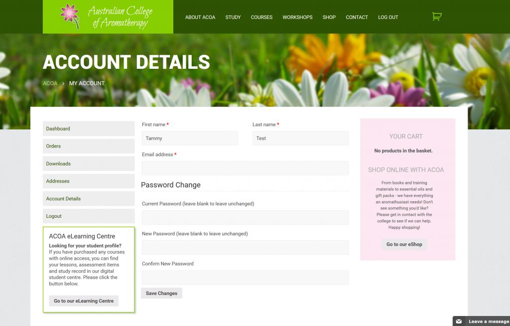 ACOA-user-account