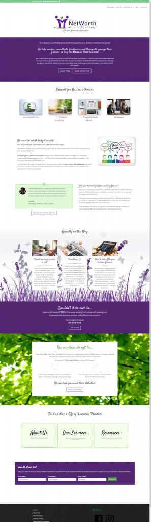Homepage www.thenetworthacademy.com